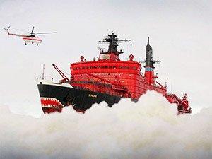 На Северный полюс на ледоколе Ямал