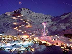 Популярные горнолыжные курорты Испании