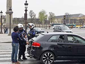 Праивла дорожного движения во Франции