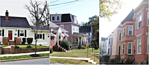 Detached, Rows, and Classic Town Houses