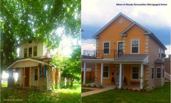 Existing Structure vs Move-in Ready Renovation Mortgaged Home 1