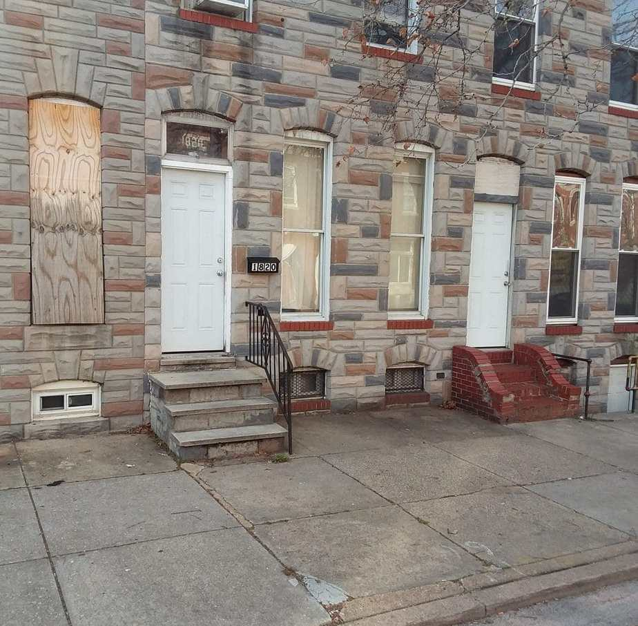 1818 N Collington Ave, Baltimore, MD 21213 Purchase and Renovation Single Housing Project