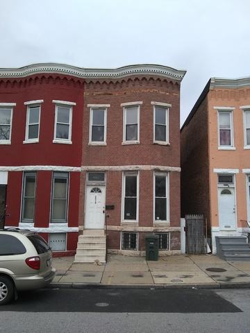 2014 N Fulton Ave, Baltimore, MD 21217 Purchase and Renovation Single Housing Project