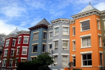 Historically Preserved Row Houses Apartments