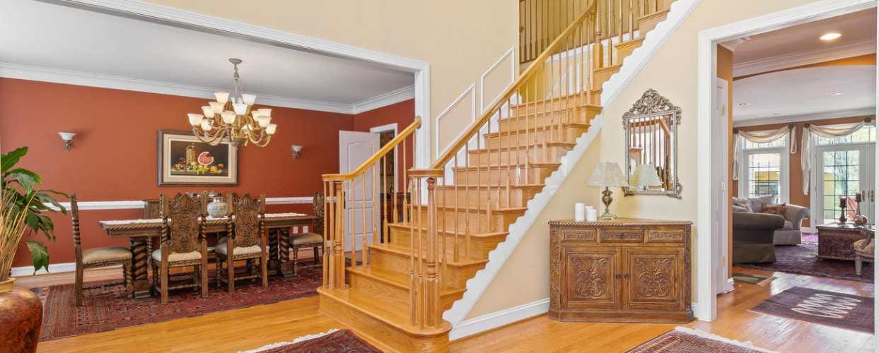 Price Adjustment On Custom Home In North Potomac! 13610 Query Mill Road, North Potomac, MD 20878 is $1,480,000