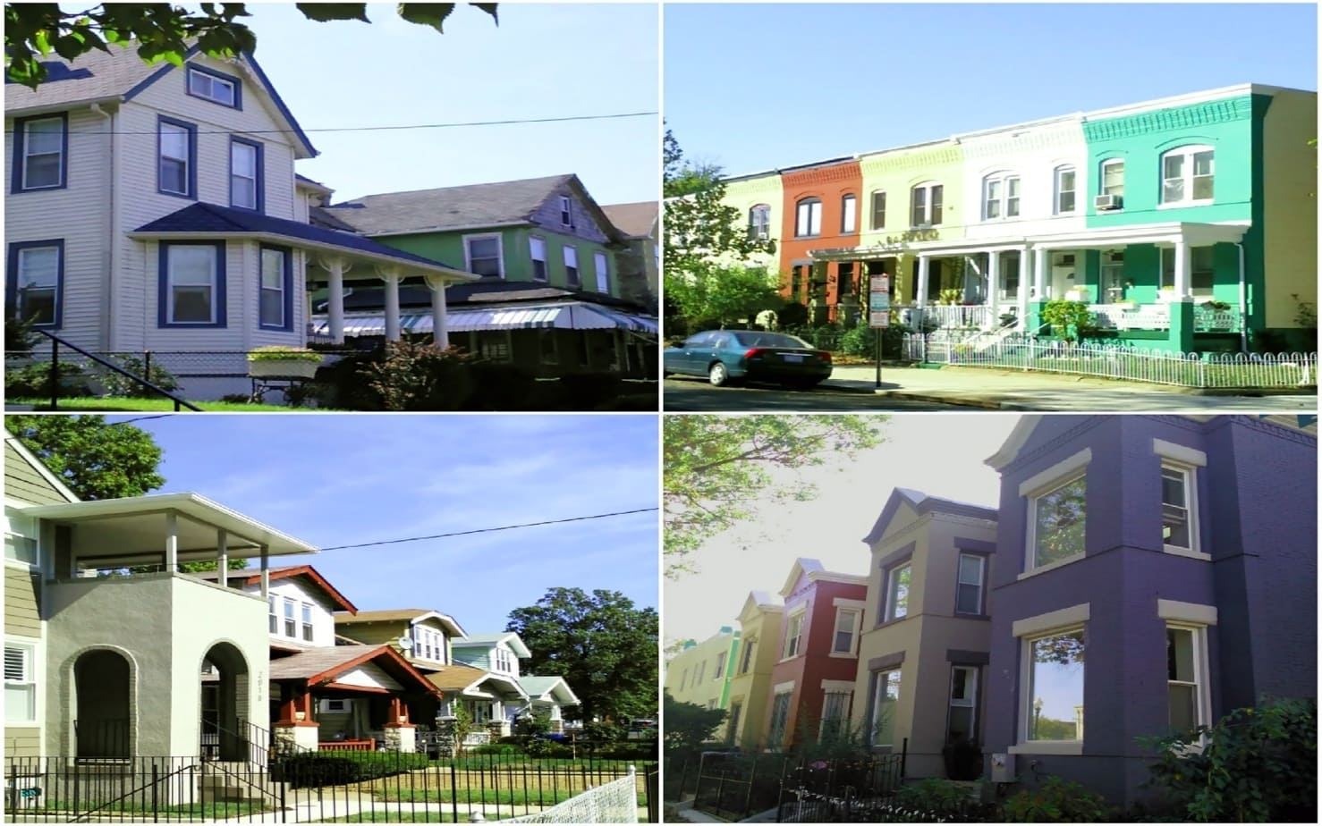 DC's Diverse Property Styles