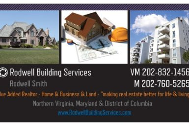 RodwellBuildingServices business card