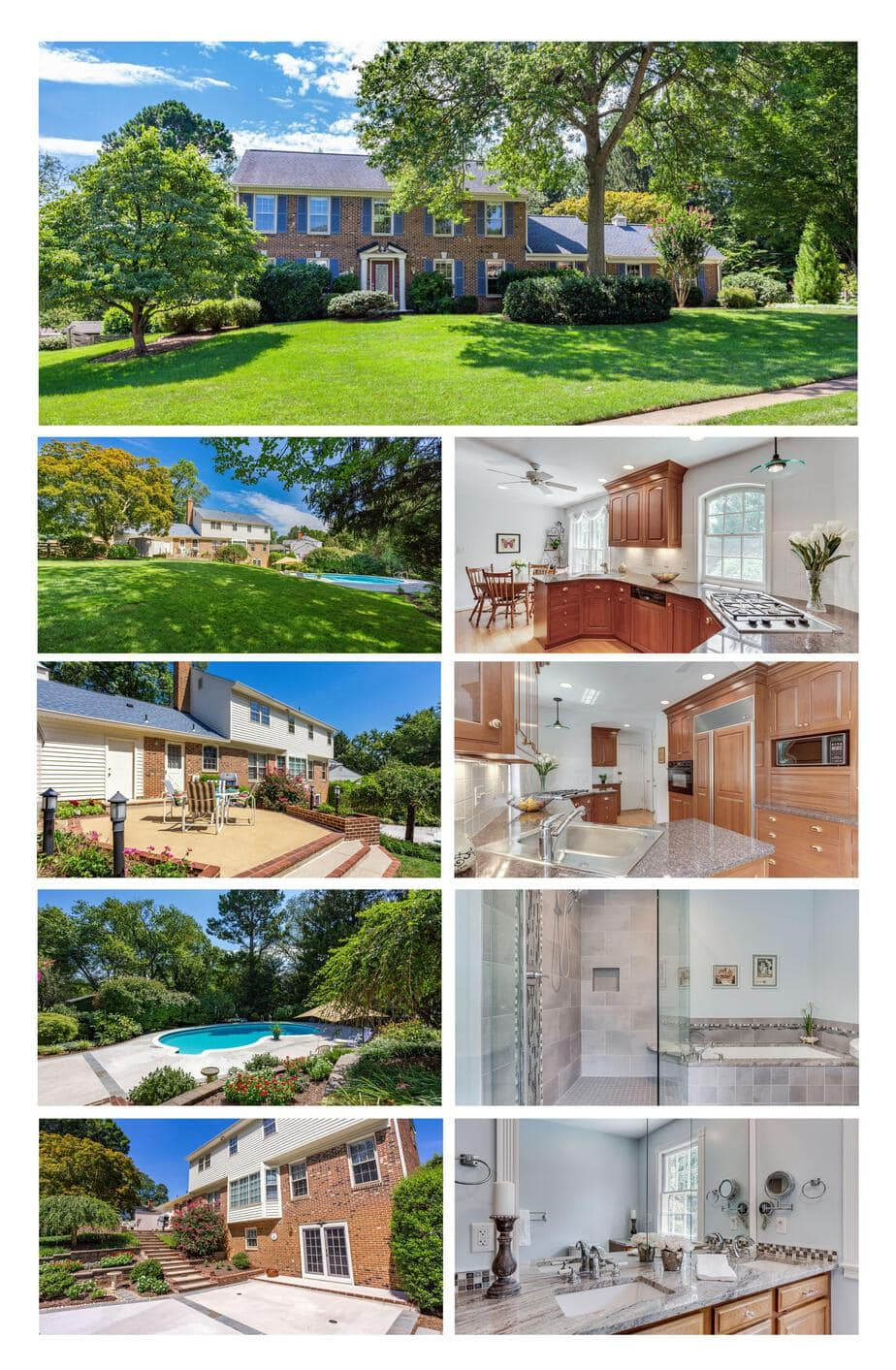 PRIVATE EXCLUSIVE NOT IN MLS, VIENNA Colonial Open Sunday 2-4PM