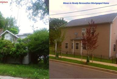 Existing Structure vs Move-in Ready Renovation Mortgaged Home 2