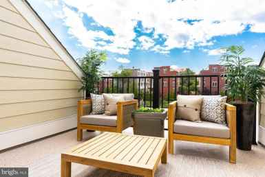 3056 7th Street NE, Washington, DC 20017 Private Balcony