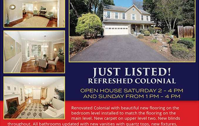 7003 Dreams Way Court, Alexandria VA 22315 Open