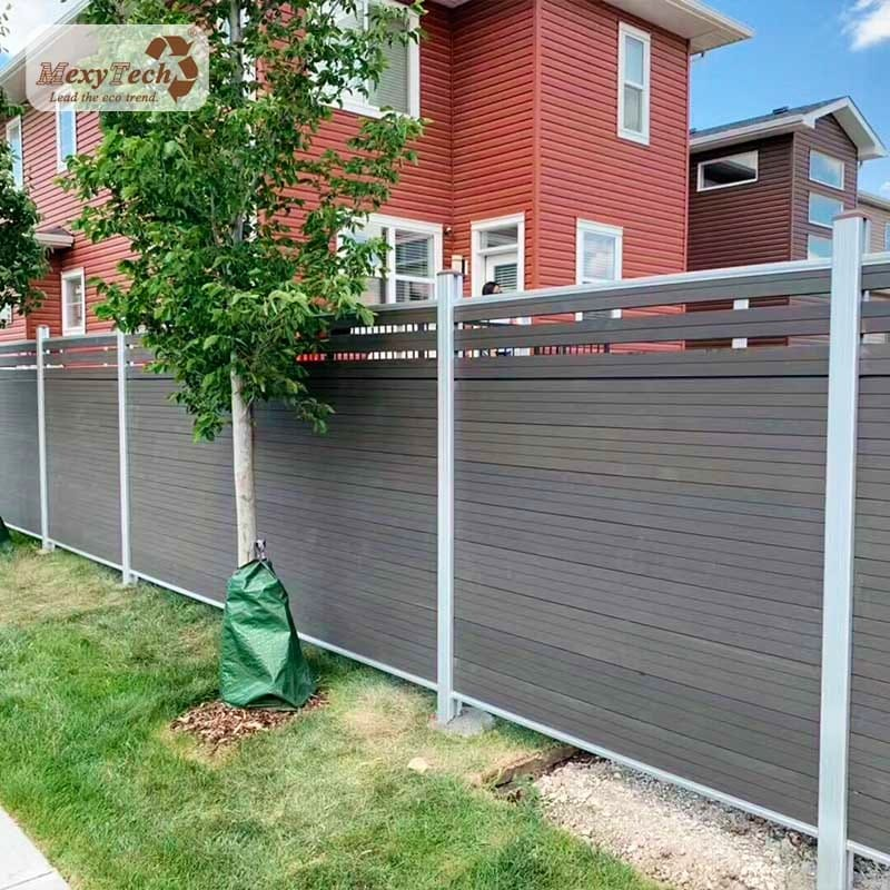 Composite Mid Trellis Fencing Panel System