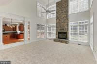 11563 Lilting Ln, Fairfax Station, VA 22039 family and friends room off kitchen dining area and outdoor patio