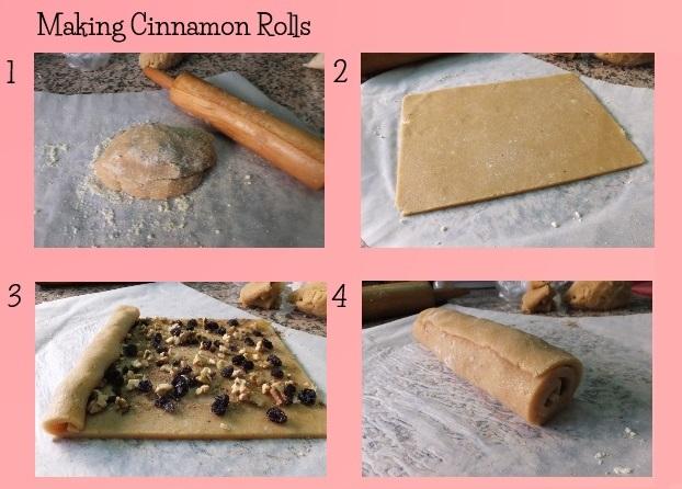 cinnamon rolls steps