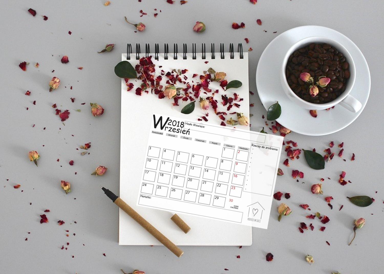 Darmowy planner na wrzesień- zaplanuj swój czas!