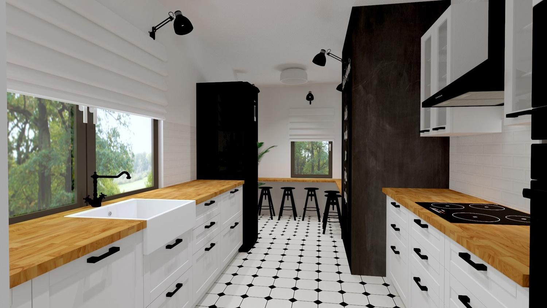 Projekt naszej kuchni- kuchnia, która nie mogła wyglądać inaczej! Idealna, wymarzona, moja własna!