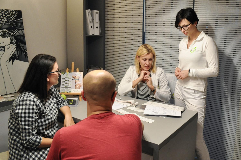 Projekt Zdrowo, Aktywnie, Z pomysłem- zabiegi jakim zostaliśmy poddani w Dieta Clinica.