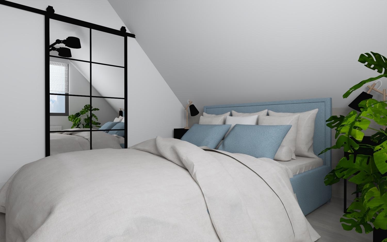 Projekt naszej sypialni- zobacz jak planujemy urządzić naszą przestrzeń.