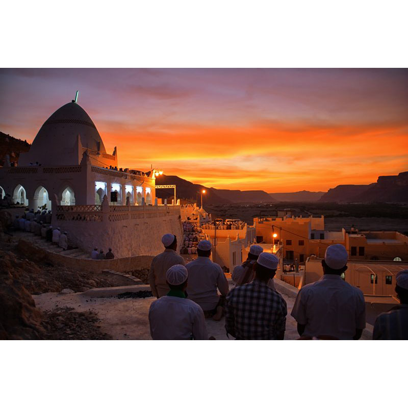 Magrib With Sunset