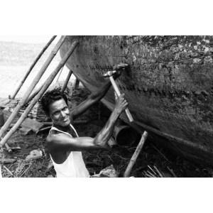 Repairing Boat