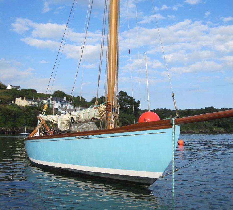 Fife Cork Harbour One Design Wooden Boat Builder Boat
