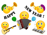 Smiley – Happy new year! 3