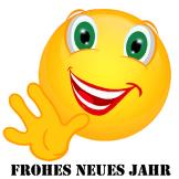 Smiley – Frohes neues Jahr 2