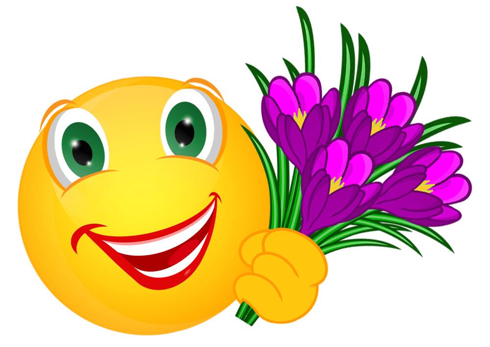 Smiley  Krokusse « Meine Internetseite