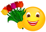 Smiley – Tulpen