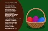 Der Osterhas bringt just ein Ei – Christian Morgenstern