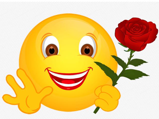 SmileyBlumen  Meine Internetseite