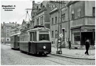 Klingenthal_Auerbacherstrasse_Strassenbahn_Ecke_Kreuzstrasse