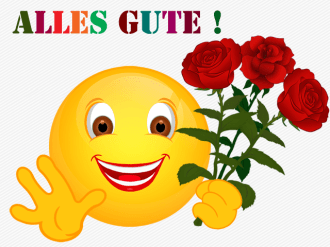 Smiley – Alles Gute !