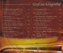 Gruß aus Klingenthal – Lindenkapelle CD-Playlist