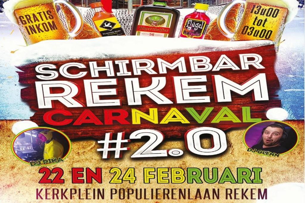 Schirmbar Rekem Carnaval Vastelaovend