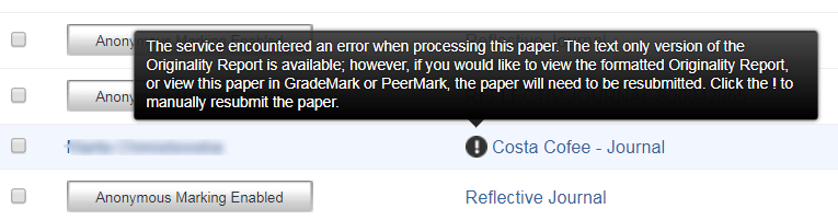 Turnitin error: M14: 11 Your Session Has Expired  This paper