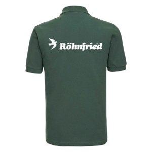 Koszulka POLO męska – BUTELKOWA ZIELEŃ