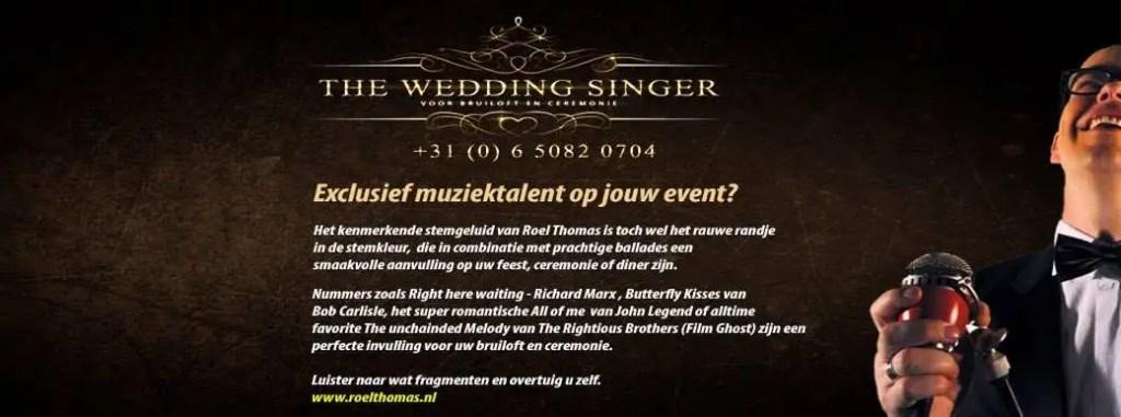 wedding-singer, ceremonie zanger