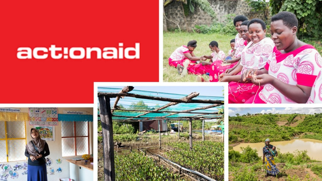 ActionAid is a global movement of people fighting for women's rights, social justice and an end to poverty