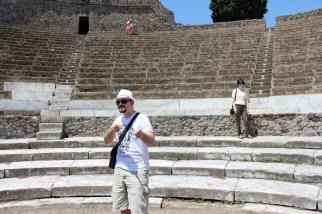 Every city needs culture, and Pompeii had plenty.