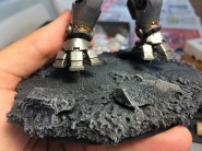 Drill out the rest of the base, insert the model, and you're set!