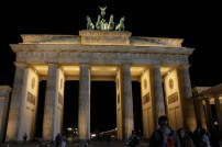 Brandenburger Tor at night. We'll get to this another day!