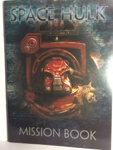 The mission book and the rulebook nicely illustrated images.