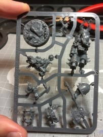 There is also a custom base for the Champion, among other goodies.