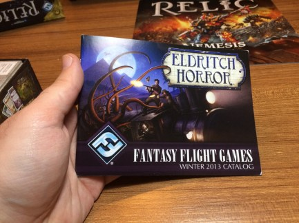 The FFG catalogue for... 2013?