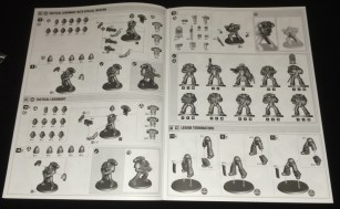 The marines come on the new larger 32mm bases. More basing goodies for us!