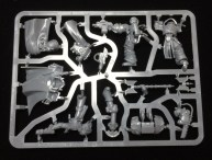 The sprue with the commanders, Captain Aethon and Kurta Sedd.