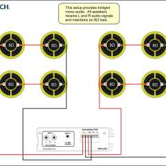 How To Wire Car Speakers Amp Diagram Heart Quiz 70 Volt Speaker Wiring Get Free Image About