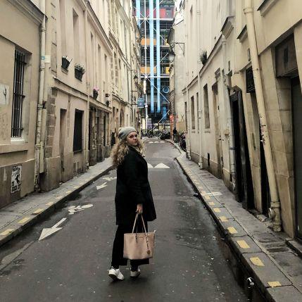 Alrededores del Museo Pompidou