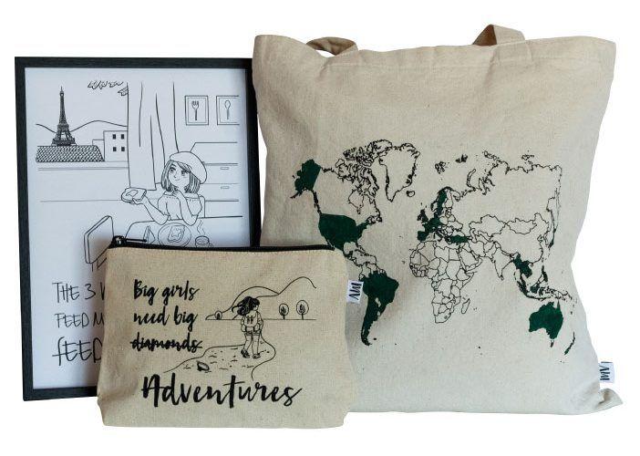 Kit regalos para viajeros